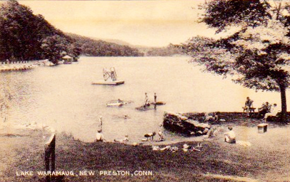 Lake Waramaug back in the day